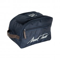 Mark Todd Pro Padded Hat Bag (Navy/Chocolate)