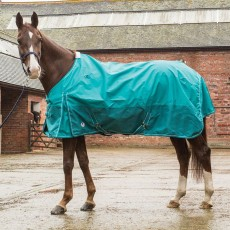 JHL Essential Mediumweight Turnout Rug (Turquoise)