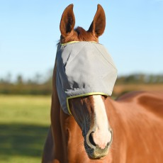 Equilibrium Field Relief Midi Fly Mask No Ears (Grey/Yellow)
