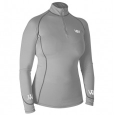 Woof Wear Ladies Performance Riding Shirt (Brushed Steel)