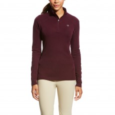 Ariat Women's Cadence Wool 1/4 Zip Base Layer (Beatroute)