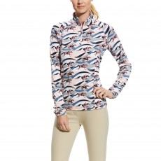 Ariat (Sample) Women's Lowell 2.0 1/4 Zip (Flow Print)