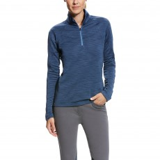Ariat Women's Conquest 1/2 Zip Jumper (Dark Denim)