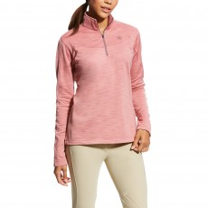 Ariat Women's Conquest 1/2 Zip Jumper (Plaster)