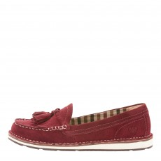 Ariat Women's Tassel Cruiser Shoe (Maroon)