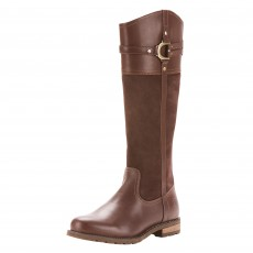 Ariat Women's Loxley Waterproof Country Boots (Chocolate)