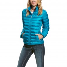 Ariat Women's Ideal Down Jacket (Atomic Blue)