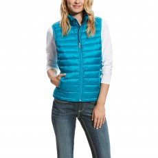 Ariat Women's Ideal Down Vest (Atomic Blue)