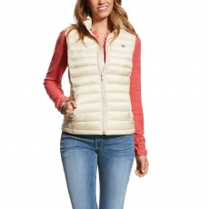 Ariat Women's Ideal Down Vest (Raw Canvas)