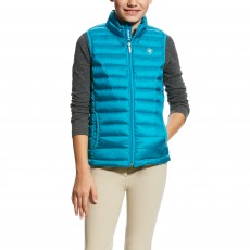 Ariat Girl's Ideal Down Vest (Atomic Blue)