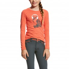 Ariat (Sample) Girl's Mixer Tee (Calypso Coral)