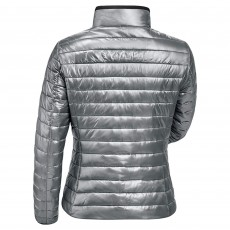 Cavallo Ladies Lizzy Quilted Jacket (Silver)