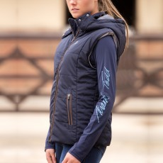 Mark Todd Women's Winter Padded Gilet (Navy)