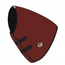 JHL Essential Turnout Rug Neck Cover (Burgundy & Navy)
