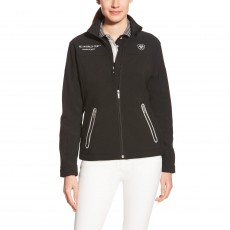 Ariat Women's FEI World Cup 2016 Team Softshell Jacket (Black)