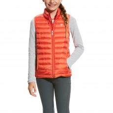 Ariat (Sample) Girl's Ideal Down Vest (Calypso Coral)