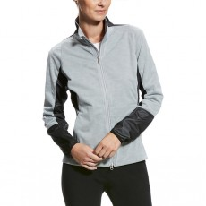 Ariat (Sample) Women's Fury Softshell Full Zip Jacket (Coastal Grey)