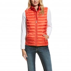 Ariat (Sample) Women's Ideal Down Vest (Calypso Coral)