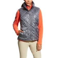 Ariat (Sample) Women's Portico Vest (Gray)