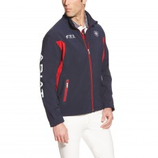 Ariat (Sample) Men's FEI Team Softshell Jacket (Navy)