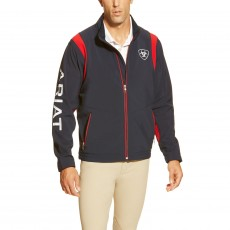 Ariat Men's Team Softshell Jacket (Navy)