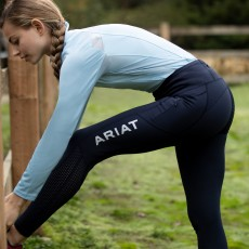 Ariat Women's EOS Full Seat Tights (Navy)