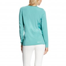 Ariat (Sample) Women's Cambria Logo Long Sleeve (Cold Plunge)