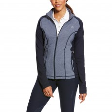 Ariat Women's Freja Full Zip (Navy Heather)
