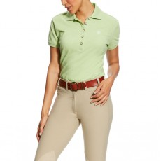 Ariat Women's Prix Polo (Lime Heather)
