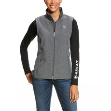 Ariat Women's Journey Softshell Vest (Grey)