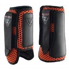 Equilibrium Tri-Zone Impact Sports Boots (Flame Red)