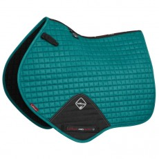 LeMieux Close Contact Plain Suede Saddlepad (Peacock)