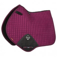 LeMieux Close Contact Plain Suede Saddlepad (Plum)