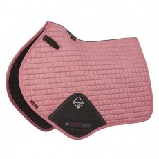 LeMieux Close Contact Plain Suede Sadlepad (Pink Blush)