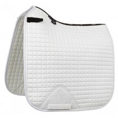 LeMieux Dressage Suede Square (White)