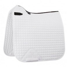 LeMieux Dressage Cotton Saddlepad (White)