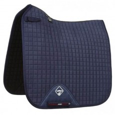 LeMieux Dressage Suede Saddlepad (Navy)