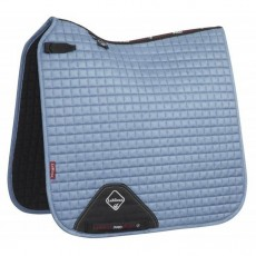 LeMieux Dressage Suede Saddlepad (Ice Blue)
