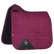 LeMieux Dressage Suede Saddlepad (Plum)