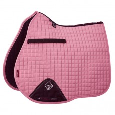 LeMieux GP Suede Saddlepad (Pink Blush)