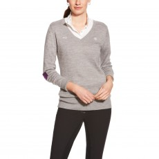 Ariat (Sample) Women's FEI Ramiro Sweater (Heather Grey)
