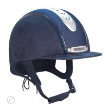 Champion Evolution Puissance Riding Hat (Navy)