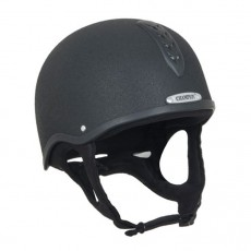 Champion Junior X-Air Helmet Plus Hat (Black)
