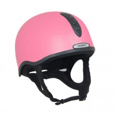 Champion Junior X-Air Helmet Plus Hat (Pink)