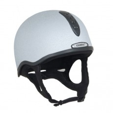 Champion Junior X-Air Helmet Plus Hat (Silver)