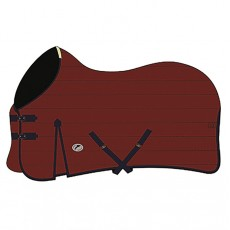 JHL Essential Mediumweight Stable Rug (Burgundy & Navy)