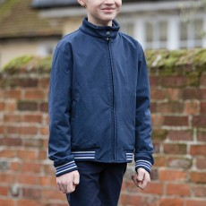 Mark Todd Child Sports Bomber Jacket (Navy)