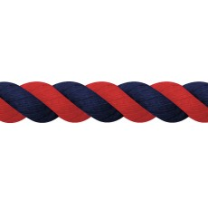 JHL Super Cotton Lead Rope (Navy/Red)