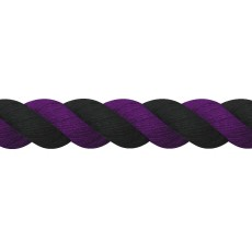 JHL Super Cotton Lead Rope (Purple/Black)