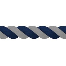 JHL Super Cotton Lead Rope (Navy/Grey)